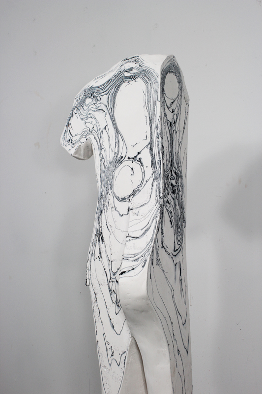 hugh hayden sculpture fossil fashion woman american apparel