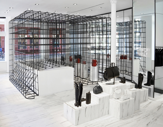 hugh hayden alexander wang installation sculpture rubber soho
